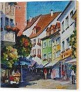 Sunny Meersburg - Germany Wood Print