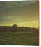 Sunny Netherlands Wood Print