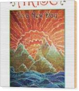 Sunrays - Arise New Day Wood Print
