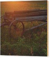 Sunrays Wood Print