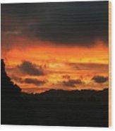 Sunrise 09 29 17 Wood Print