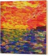 Sunrise #1  15-7 Wood Print