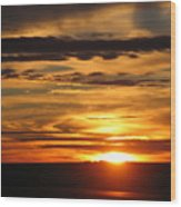 Sunrise 1 Wood Print