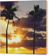 Sunrise-23 Wood Print