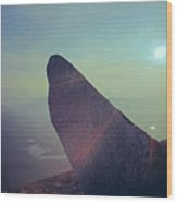 136625-sunrise At Index Rock  Wood Print