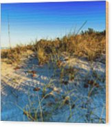 Dawn At Manasota Beach Wood Print