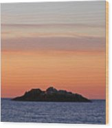 Sunrise At Manchester By The Sea Wood Print