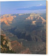 Sunrise At Mather Point  --  Grand Canyon  Wood Print