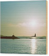 Sunrise At Odiorne Point 2 Wood Print