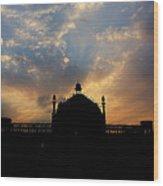 Sunrise At Rumi Gate Wood Print