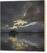 Sunrise At Watts Bar Lake Wood Print