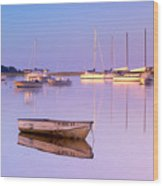 Sunrise At West Bay Osterville Cape Cod Wood Print