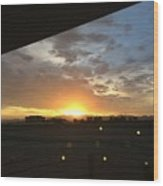 Sunrise Before Class Wood Print