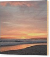 Sunrise Clouds Over The Atlantic November 5 2016 Wood Print