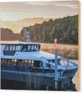 Sunrise Cruise To Doubtful Sound Wood Print