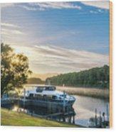 Sunrise Cruise To Doubtful Sound, New Zealand Wood Print