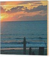 Sunrise For Mc Wood Print