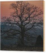 Sunrise From Bolton Ma Wood Print