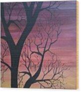 Sunrise From My Window Wood Print