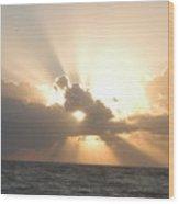 Sunrise From Sexton Plaza Wood Print