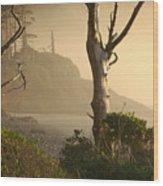 Sunrise Haze Wood Print
