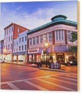 Sunrise In Annapolis Wood Print