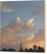 Sunrise In Sosua, Dr Wood Print