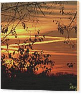 Sunrise In Tennessee Wood Print
