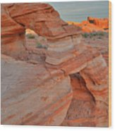 Sunrise In Valley Of Fire State Park Wood Print