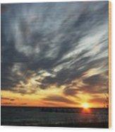 Sunrise Lake Huron 3 Wood Print