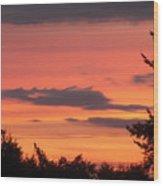 Sunrise Wood Print