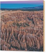 Sunrise Light On Bryce Canyon Wood Print