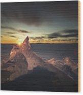 Sunrise March 24 740 Am Sturgeon Bay Wood Print