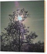 Sunrise Wood Print by Mario Bennet