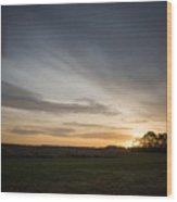 Sunrise More Color Wood Print