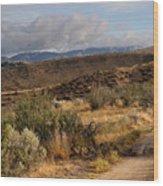 Sunrise Near Boise, Idaho Wood Print