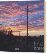 Sunrise Nv15-02 Wood Print