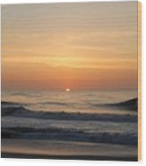 Sunrise Ocean 48 Wood Print