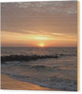 Sunrise Ocean 74 Wood Print