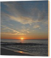 Sunrise Ocean 75 Wood Print