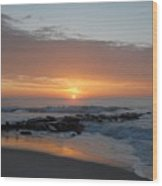 Sunrise Ocean 76 Wood Print