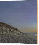 Sunrise On Nauset Wood Print