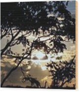 Sunrise Over Fort Salonga6 Wood Print