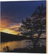 Sunrise Over Hauser Wood Print