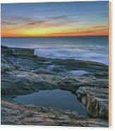 Sunrise Over Pemaquid Point Wood Print