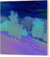 Sunrise Over Shenandoah Valley Wood Print