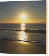 Sunrise Over The Ocean8852 Wood Print