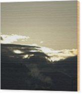 Sunrise Over The Sandias Wood Print