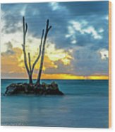 Sunrise Punta Cana #2 Wood Print