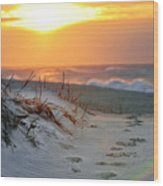 Sunrise Rainbow Wood Print